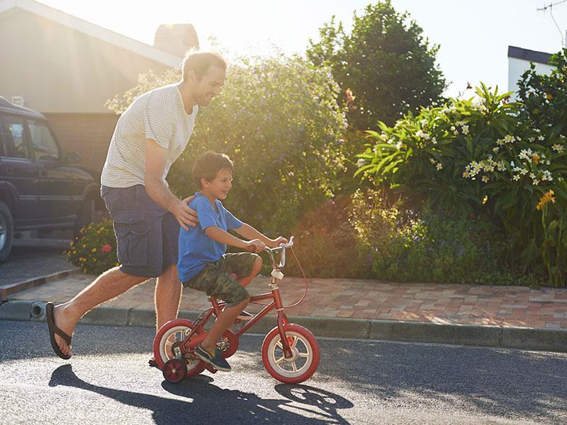 Serwisujemy również rowery dla dzieci Saska Kępa